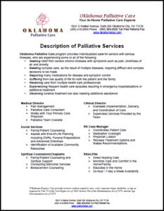 Palliative Care | Oklahoma Palliative & Hospice Care